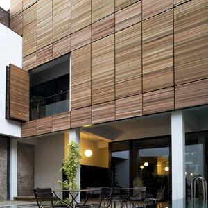 Realisatie gevelbekleding WR Ceder ArchitectsLab Brussel 5