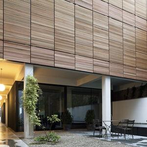Realisatie gevelbekleding WR Ceder ArchitectsLab Brussel 4