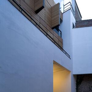 Realisatie gevelbekleding WR Ceder ArchitectsLab Brussel 3