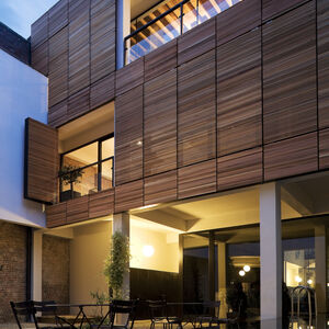Realisatie gevelbekleding WR Ceder ArchitectsLab Brussel 2