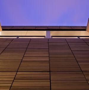 Realisatie gevelbekleding WR Ceder ArchitectsLab Brussel 1