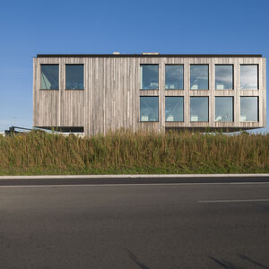 Realisatie Woodface Padoek Bontinck architecture and engineering 5