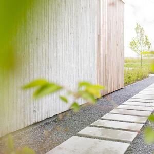 Realisatie Woodface Western Red Ceder Inoforma Architects Wevelgem 21