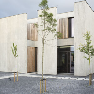 Realisatie Woodface Western Red Ceder Inoforma Architects Wevelgem 3