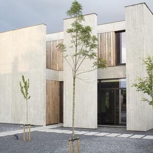 Realisatie Woodface Western Red Ceder Inoforma Architects Wevelgem 2