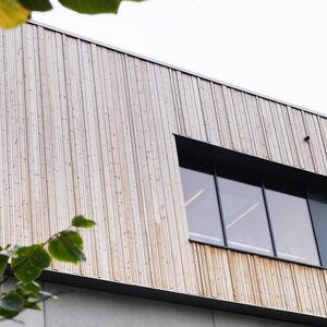 Realisatie Woodface Thermowood Vuren Atelier d'Arch Van Oost 4
