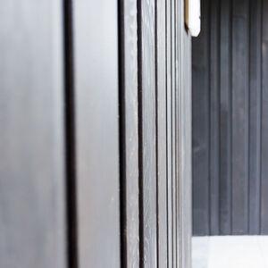 realisatie Woodface WR Ceder zwart geolied Appartementen Ronse 3