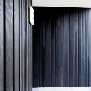 realisatie Woodface WR Ceder zwart geolied Appartementen Ronse 2